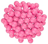 Fairly Odd Novelties 3/4' Mini Ping Pong/Table Tennis/Beer Pong Round Balls (100 Pack), 19mm, Pink