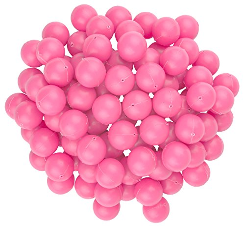Fairly Odd Novelties 3/4 Mini Ping Pong/Table Tennis/Beer Pong Round Balls (100 Pack), 19mm, Pink