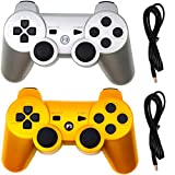 Molgegk Wireless Controllers Replacement For PS3...