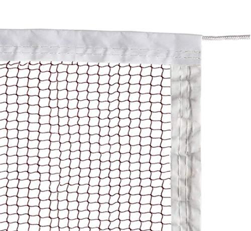 ATINUS Badminton Tournament Net with Rope for Indoor and Outdoor Sports Garden Schoolyard Backyard (20 FT x 2.5 FT)