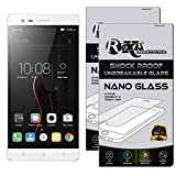 Roxel {Pack of 2} Lenovo Vibe K5 Note Flexiable Nano Glass Screen Protector with Unbreakable Nano Film Glass [ Better Than Tempered Glass ] Screen Protector for Lenovo Vibe K5 Note (Silver, 32 GB)