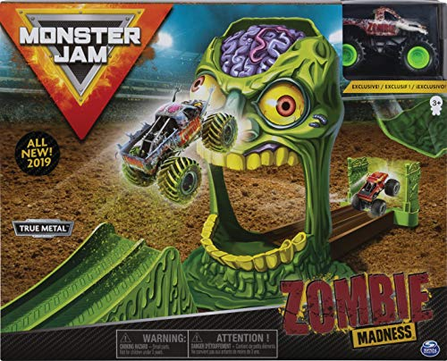 Monster Jam 6045029 Stunt Play Sets 1: 64, varios colores , color/modelo surtido