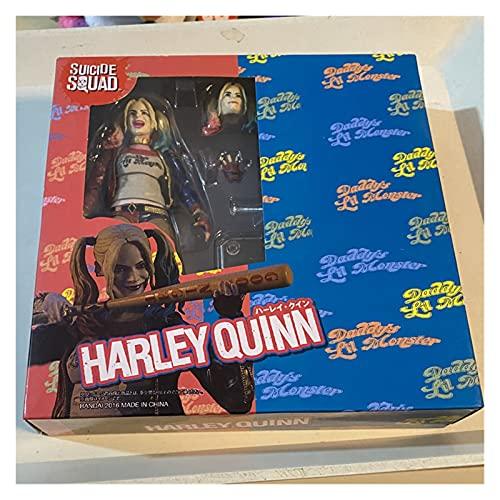 Figura Juguete Harley Quinn Figura de acción Suicide Squad Collectible Juguetes Figura Juguete (Color : with Retail Box)