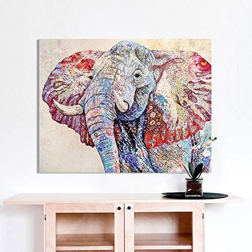 mmzki Frohe Malerei Wandkunst Holland Kuh Leinwand Malerei Tier Bild Drucke Wohnkultur60X100CM