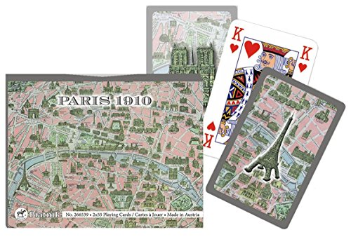 Piatnik - 2665 - Cartes à Jouer - Paris 1910 - 2 x 55 Pièces