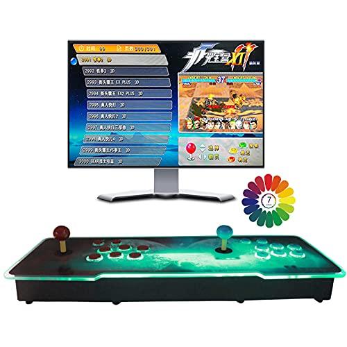 Pandora Box 3D - Juegos clásicos Consola de Videojuegos, 2 Jugadores Newest Home Arcade Console 8000 Juegos Todo en 1 (200 Juegos 3D)