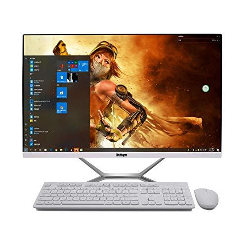 Baieyu All in One PC 27 Pulgadas, Nvidia Geforce GTX 1650, Intel Core i7-9700F, 64GB DDR4, 512GB SSD, 2TB HDD,Ordenador All in One,Mouse y Teclado inalámbricos españoles,WiFi/BT4.2/DP/DVI/LAN