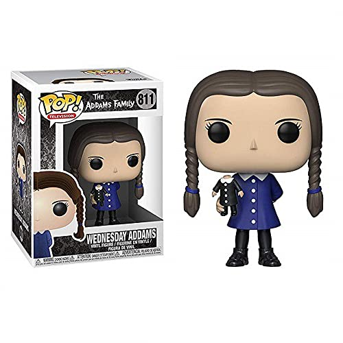 LLZZ Pop TV The Addams Family Wednesday Figure #811 Collectible Toy