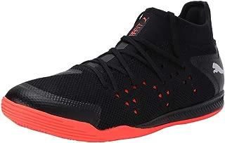 Puma Men's Sharp Xt Netfit 1 Black-Silver-nrgy Badminton Shoes