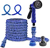 <span class='highlight'>dicn</span> <span class='highlight'>Electronic</span> Expandable Garden Hose 150ft Super Long Light Weight Hose Pipe with Spray Gun 7 Function Easy Storage for Waterting Plants, Washing Car Pets Gardening 1/2
