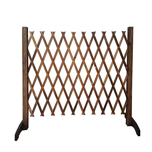 Extendible Holzzaun, freistehender Anlage wachsender Support-Bildschirm, kann for Gartenpartition/Hofdekoration/Guardrail-Sicherheitstür verwendet werden (Size : 90cm)