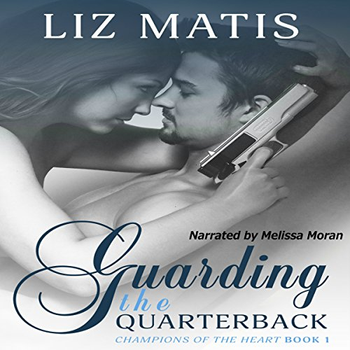 Guarding the Quarterback audiobook cover art