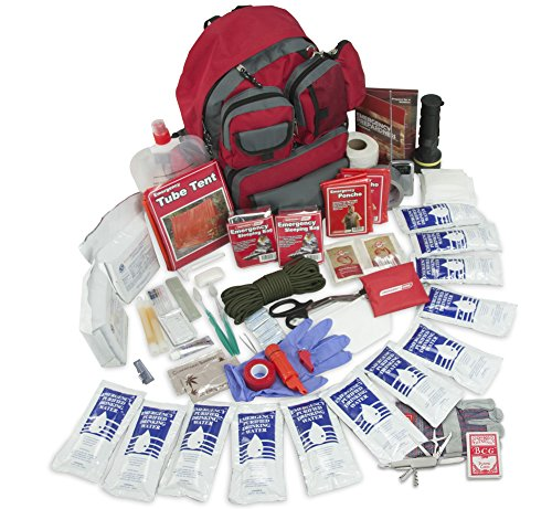 Emergency Zone Family Prep 72 Hour Survival Kit/Go-Bag | Perfect Way to Prepare Your Family | Be Ready for Disasters Like Hurricanes, Earthquake, Wildfire, Floods | Now Includes Bonus Item!