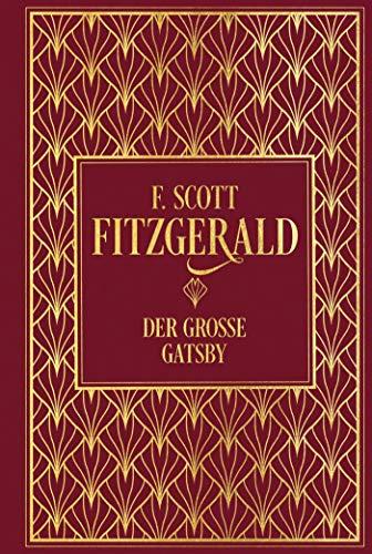 Der große Gatsby: Leinen mit Goldprägung