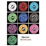 TX GIRL 10pcs / Set EPT Fichas De Póker con Valor Profesional Casino Ficha De Apuestas Las Fichas De Cerámica Chips Inicio Juegos Fantasía Handfeel (Color : Each for One)