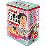 Nostalgic-Art Retro Vorratsdose L Kellogg's – Happy Hostess Corn Flakes – Nostalgie...