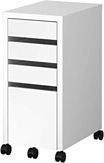 IKEA MICKE Drawer Unit/Drop File Storage, White