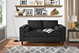 Divano Roma Modern Sofas, Dark Grey