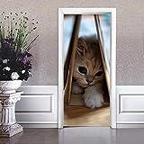 BXZGDJY Türtapete Selbstklebend Türposter Fototapete