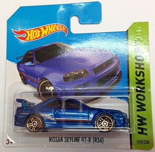 Hot Wheels - HW Workshop - Nissan Skyline GT-R (R34) - 230/250 by Mattel