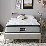 Beautyrest BR800 13 inch Plush Pillow Top Mattress, Queen, Mattress Only