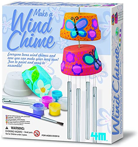 4M 4824 Make A Wind Chime Kit - Arts &...