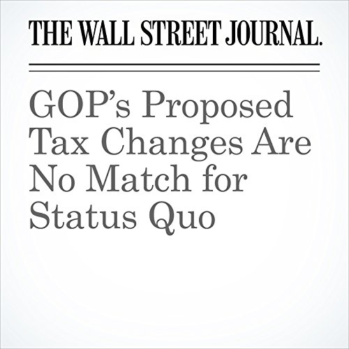 GOP's Proposed Tax Changes Are No Match for Status Quo copertina