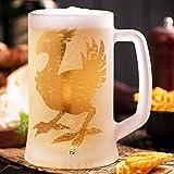 Final Fantasy Chocobo Sandblasted Beer Glass,...