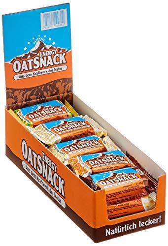 Energy OatSnack, Mix Box - verschiedene Geschmacksrichtungen, natürliche Riegel - von Hand gemacht, 3 x 70 g und 12 x 65 g, 1er Pack (1 x 990 g)