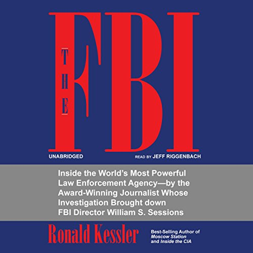 The FBI audiobook cover art