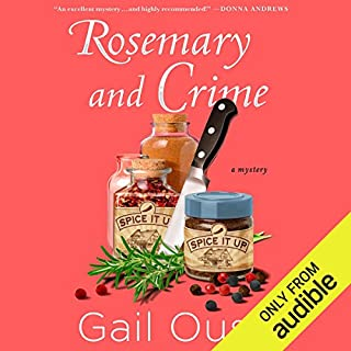 Rosemary and Crime audiobook cover art