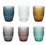 Tognana Set 6 Bicchieri da Tavola Acqua o Vino in Vetro Ionico 280 CC
