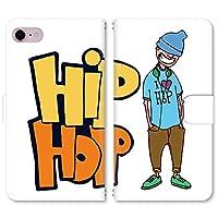 スマホ スマートフォン 手帳 スマホケース HIPHOP BOY 【4040_HIPHOP BOYブルー|ZenFone 5 Lite ZC600KL】