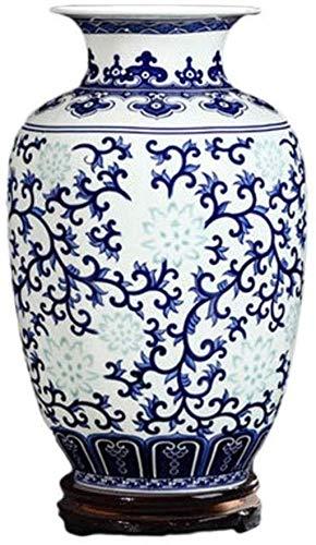 Vasen Keramik handgefertigt mit rotierendem Boden TV-Schrank Esstisch Zubehör (23,5 * 14,5 cm) Home D & Eacute; COR