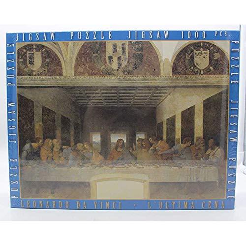 Impronte ipz034 - Leonardo da Vinci: Ultima Cena - Puzzle 1000 pezzi