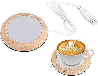 Mug Warmer, USB Powered Tea Coffee Cup Mug Warmer, Beverage Mug Mat Home Office Desktop Heated Coffee Tea Mug Pad