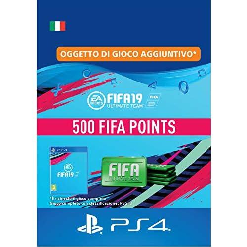 FIFA 19 Ultimate Team - 500 FIFA Points   Codice download per PS4 - Account italiano