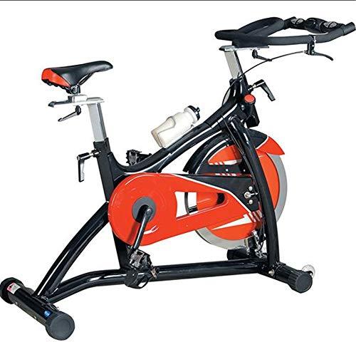 Lcyy-Bike Allenatori di Bicicletta Resistenza Magnetica 18 kg Volano Cardio Workout con Display Multifunzionale Manubrio Regolabile E Altezza del Sedile