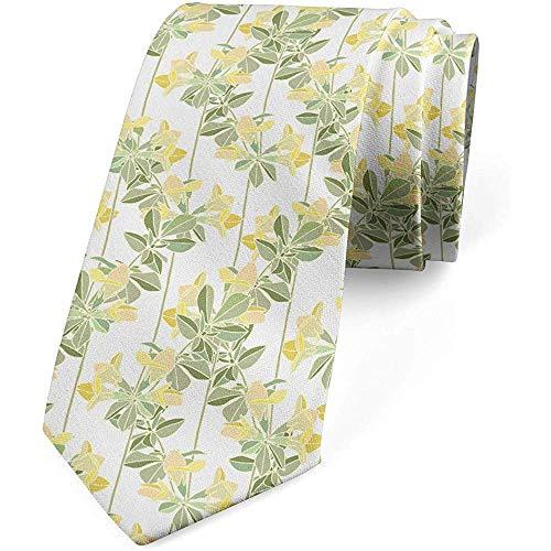 Corbata, floreciente jardín botánico, cáscara de huevo verde salvia