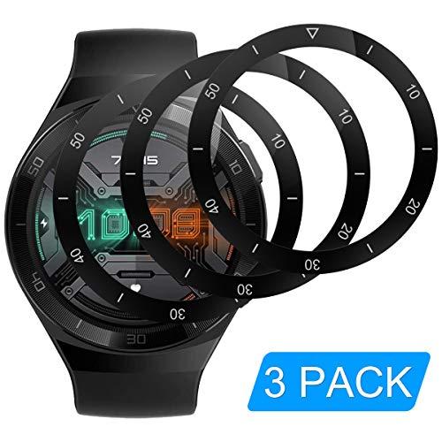 RSSYTZ [3 Stück Schutzfolie für Huawei GT2E, [Kompatibel mit Hülle] [Blasenfreie] [Klar HD] [Anti-Kratzen] [Anti-Fingerprint].Huawei GT2E Weich TPU Displayschutz