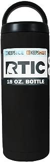 RTIC 18 OZ BOTTLE - (BLACK)
