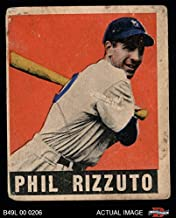 1948 Leaf # 11 Phil Rizzuto New York Yankees (Baseball Card) Dean's Cards 2 - GOOD Yankees