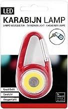 Verhaak - zaklamp Karabijn led staal rood - Rood