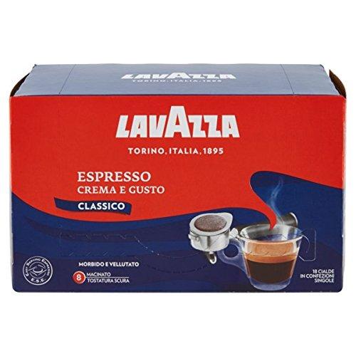 LAVAZZA - Espresso Crema e Gusto - 3 x Box mit 18 Espressopads / ESE Pads = 54 ESE Pads