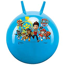 ✅ MOTIVE: With beautiful dog motive from the series Paw Patrol – Ball colour: blue (light blue, sky blue) ✅ FEATURES: With handles to hold on to while jumping. ✅ USE: Fitness, skill, muscle development, action, coordination, mobility, fun, sense of b...