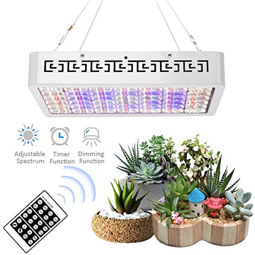 3000W Vollspektrum-LED-Zuchtlampen für Zimmerpflanzen mit Timer-Fernbedienung zur Verdunkelung von Gewächshauszelt-Zuchtleuchten
