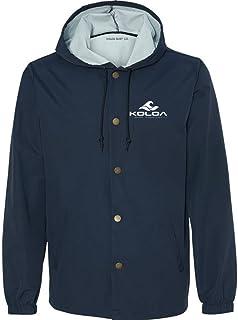 Koloa Surf Co. Slick Mens Windbreakers - Water Resistant Hooded Jackets