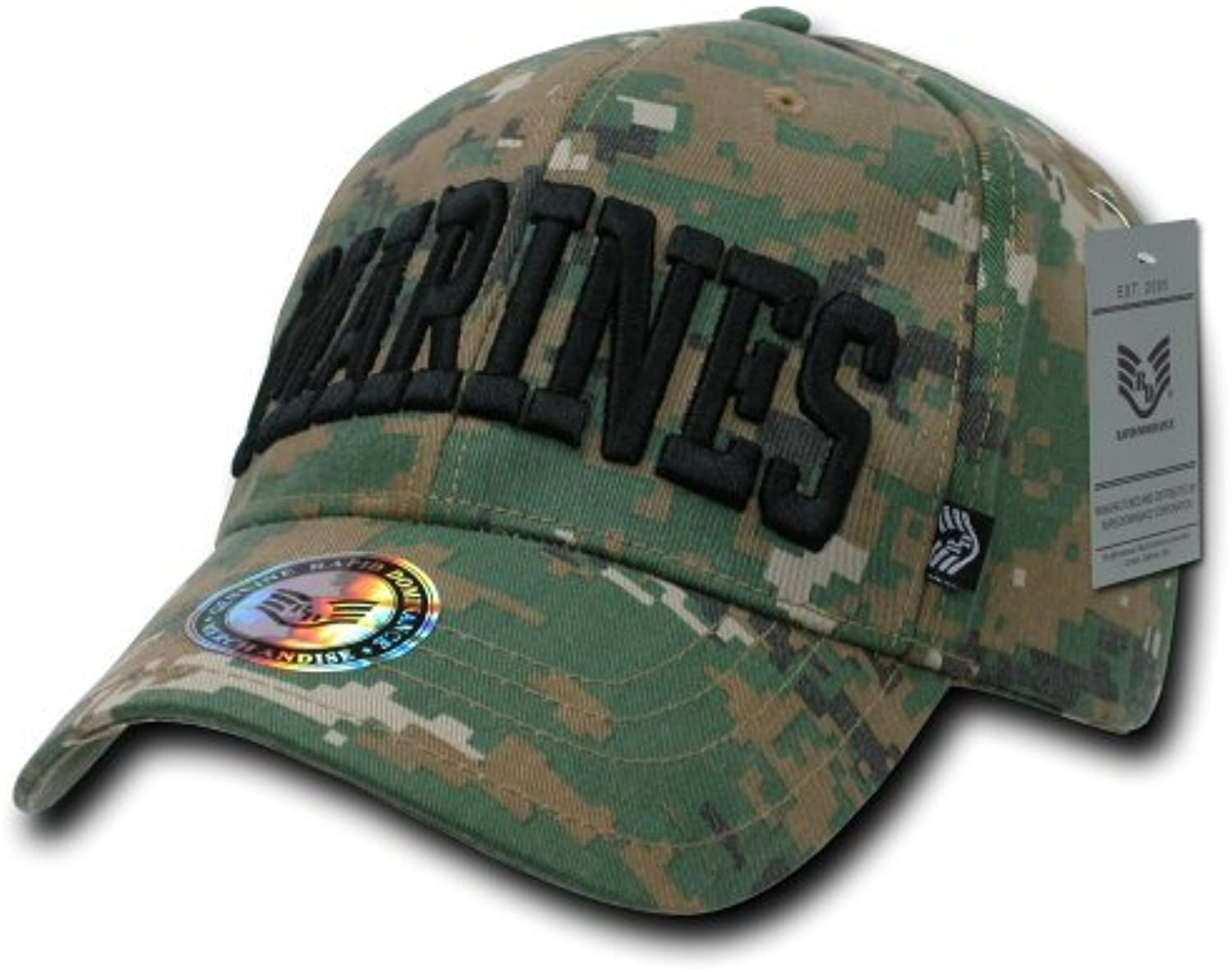 Rapiddominance Marines Digital Military Law Cap by Rapid Dominance