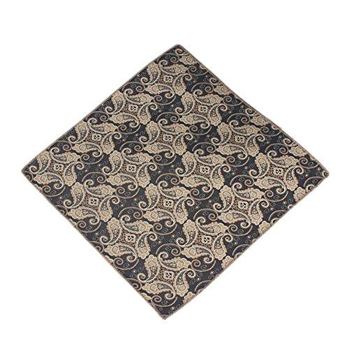 Blancho Herren Einstecktuch Einsteckt?Cher Chest Handtuch spezielles Muster, No.1