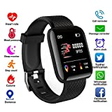 XIAOTIAN 116 Plus Smart Watch Wristband Sports Fitness Blood Pressure Heart Rate Call Message Reminder Android Pedometer D13 Smart Watch